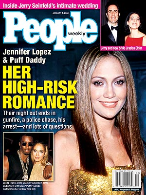 photo | Couples, Jennifer Lopez Cover, Super-Couples, Jennifer Lopez, Jerry Seinfeld, Jessica Sklar, Sean \P. Diddy\ Combs