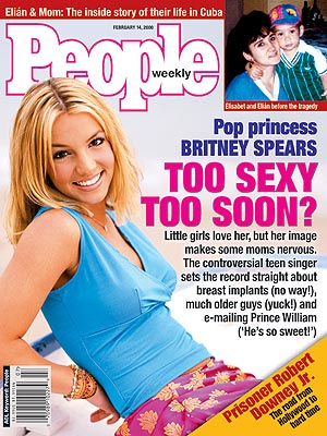 photo | 2000, Britney Spears Cover, Musical Hitmakers, Teen Idols, Too Sexy Too Soon, Britney Spears, Elian Gonzalez