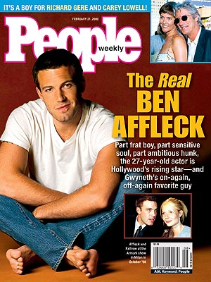 photo | Ben Affleck Cover, Ben Affleck, Carey Lowell, Gwyneth Paltrow, Richard Gere