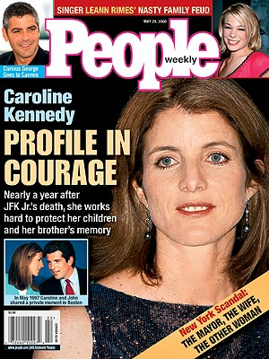 photo | Caroline Kennedy Cover, Coping and Overcoming Illness, The Kennedys, Caroline Kennedy, George Clooney, LeAnn Rimes