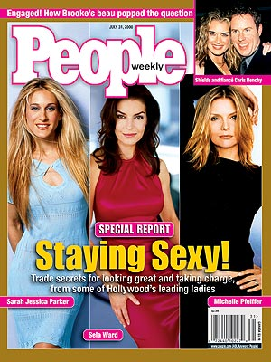  photo | Fabulous Over Forty, Michelle Pfeiffer Cover, Sarah Jessica Parker Cover, Sela Ward Cover, Brooke Shields, Chris Henchy, Michelle Pfeiffer, Sarah Jessica Parker, Sela Ward