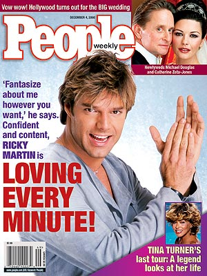 photo | Ricky Martin Cover, Catherine Zeta-Jones, Michael Douglas, Ricky Martin, Tina Turner