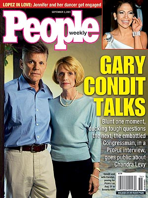 photo | Affairs, Murder, Gary Condit Cover, Chandra Levy, Gary Condit, Jennifer Lopez