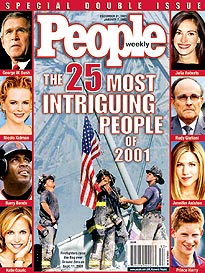 The 25 Most Intriguing People 2001