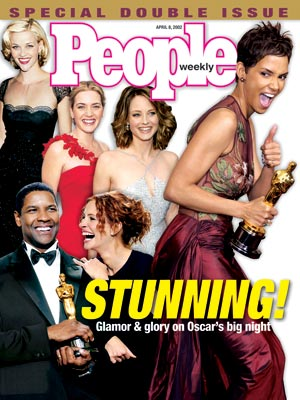  photo | Halle Berry Cover, Oscars On Covers, Denzel Washington, Halle Berry, Jodie Foster, Julia Roberts, Kate Winslet, Reese Witherspoon