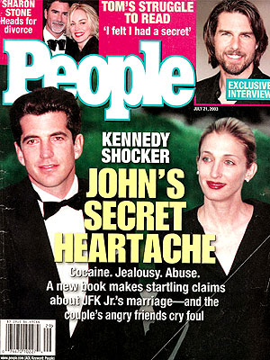 photo | Carolyn Bessette Cover, John F. Kennedy Jr. Cover, Carolyn Bessette, Carolyn Bessette Kennedy, John F. Kennedy Jr., Sharon Stone, Tom Cruise