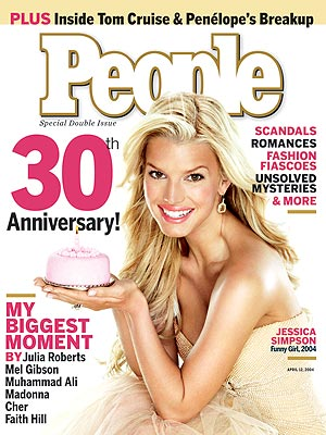photo | 2000, Anniversary Issues, Jessica Simpson Cover, Jessica Simpson