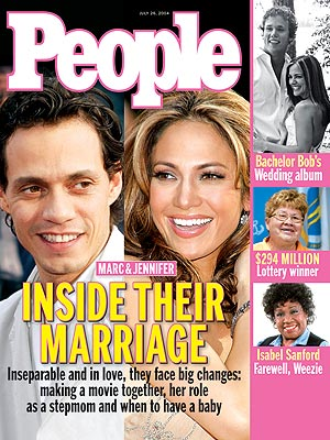 photo | Couples, Marriage, Celebrity Love Stories, Jennifer Lopez Cover, Marc Anthony Cover, Bob Guiney, Isabel Sanford, Jennifer Lopez, Marc Anthony, Rebecca Budig
