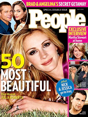  photo | Julia Roberts Cover, Most Beautiful on Covers, Julia Roberts