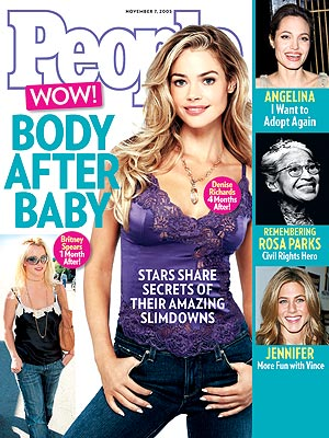 photo | Diet & Fitness, Amazing Weight Loss, Bodywatch, Denise Richards Cover, Angelina Jolie, Britney Spears, Jennifer Aniston, Rosa Parks