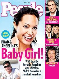 Brad Pitt & Angelina Jolie's Baby Girl