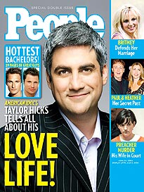 Taylor Hicks Lets Loose