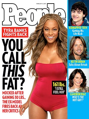 photo | 2000, Bodywatch, Celeb Curves, Show Some Skin, Models, Tyra Banks Cover, Cameron Diaz, Keith Urban, Shawn Hornbeck, Tyra Banks