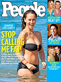 Jennifer Love Hewitt Fires Back