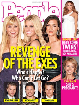 photo | Couples, Divorced, Jessica Simpson Cover, Nasty Breakups and Divorces, Coping and Overcoming Illness, Reese Witherspoon Cover, Bridget Moynahan, Jennifer Lopez, Jessica Alba, Jessica Simpson, Nick Lachey, Reese Witherspoon, Ryan Phillippe, Tom Brady
