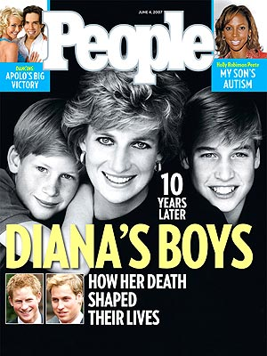  photo | Prince Harry Cover, Prince William Cover, Princess Diana Cover, The British Royals, Apolo Anton Ohno, Holly Robinson-Peete, Prince Harry, Prince William, Princess Diana