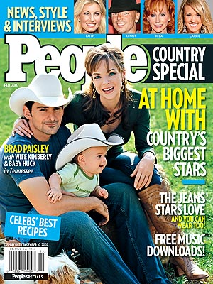 photo | Couples, Kids & Family Life, Marriage, Country Music Stars, Hot Dads, Brad Paisley, Carrie Underwood, Faith Hill, Kenny Chesney, Kimberly Williams-Paisley, Reba McEntire