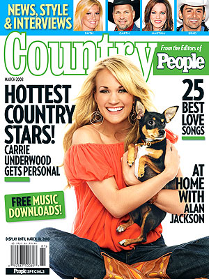  photo | Animals On Cover, Country Music Stars, American Idol, Brad Paisley, Carrie Underwood, Faith Hill, Garth Brooks, Martina McBride