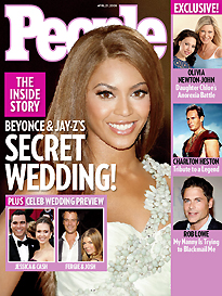Beyoncé and Jay-Z Married!