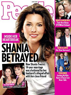 photo | Affairs, Breakups, Shania Twain Cover, Angelina Jolie, Brad Pitt, Kate Hudson, Lance Armstrong, Shania Twain