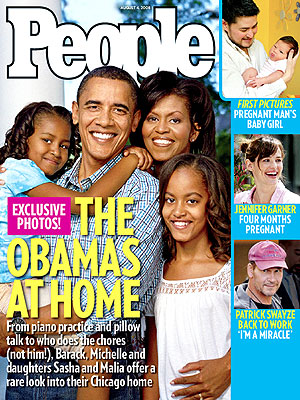 photo | 2008 Presidential Elections, Presidential Elections, Barack Obama Cover, Michelle Obama on Cover, Barack Obama, Jennifer Garner, Michelle Obama, Patrick Swayze