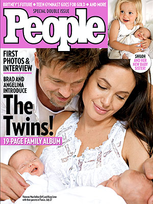 angelina jolie family pictures. Angelina Jolie Cover,