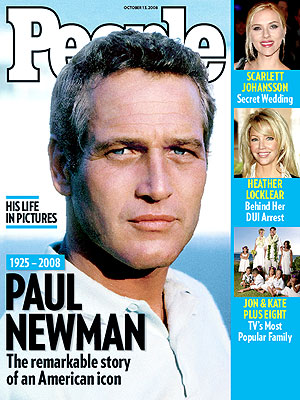 photo | Tributes, Paul Newman Cover, Paul Newman