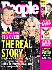 Madonna & Guy Ritchie How It Fell Apart