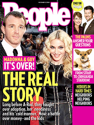  photo | Divorced, Madonna Cover, Guy Ritchie, Madonna, Sarah Palin