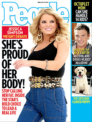 photo | Celeb Curves, Jessica Simpson Cover, Jessica Simpson