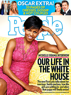 photo | Michelle Obama on Cover, Angelina Jolie, Anne Hathaway, Brad Pitt, Jennifer Aniston, Jennifer Lopez, Michelle Obama, Reese Witherspoon