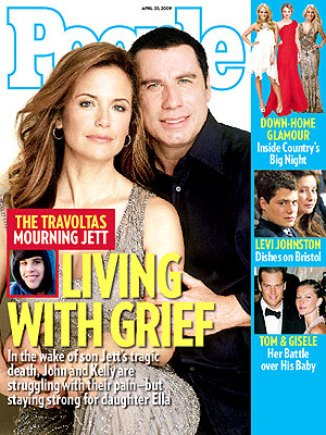 photo | John Travolta Cover, Kelly Preston Cover, Carrie Underwood, Gisele Bundchen, Jett Travolta, John Travolta, Julianne Hough, Kelly Preston, Taylor Swift, Tom Brady