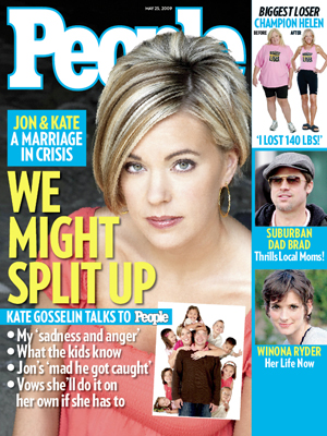 photo | Affairs, Divorced, Gosselins On Cover, Jon Gosselin, Kate Gosselin