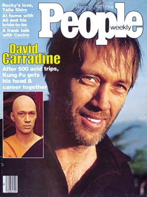 photo | Substance Abuse, David Carradine Cover, Starting Over, David Carradine