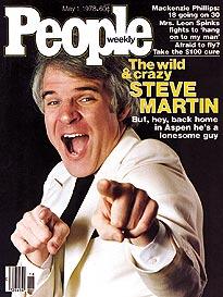 The Crazy & Wild Steve Martin