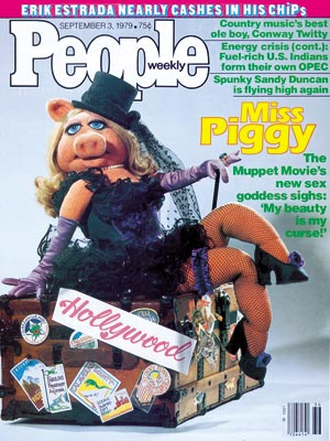 photo | The Muppet Movie, Miss Piggy Cover, Non-Humans, Miss Piggy
