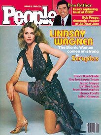 Lindsay Wagner Is On Fire