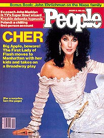 Cher Takes A Bold Step