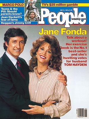 photo | Jane Fonda Cover, Tom Hayden Cover, Jane Fonda, Ken Marshall, Tom Hayden, Ying Ruocheng