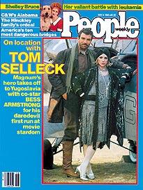 Tom Selleck in Yugoslavia