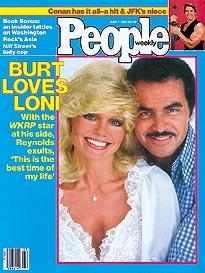 Burt and Loni Pair Up