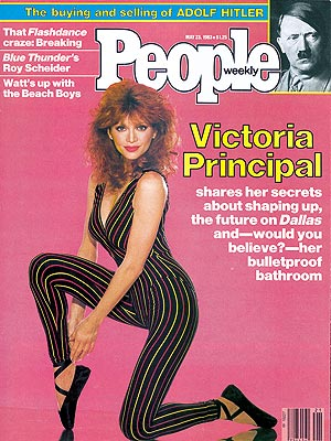  photo | Diet & Fitness, Dallas, Dallas, Victoria Principal Cover, Adolf Hitler, Victoria Principal