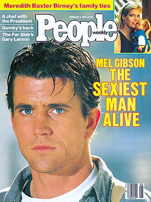 photo | 1980, Mel Gibson Cover, Sexiest Man Alive, Mel Gibson, Meredith Baxter