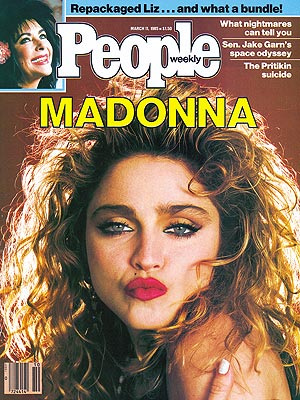 photo | 1980, Divas, Madonna Cover, Musical Hitmakers, Hollywood Heyday, Elizabeth Taylor, Madonna