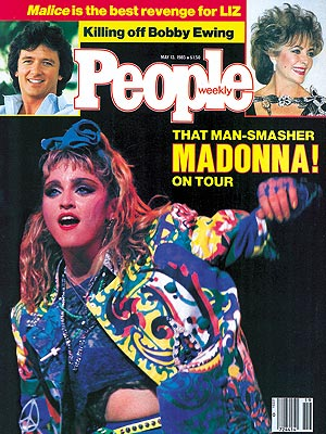 photo | Madonna Cover, Elizabeth Taylor, Madonna, Patrick Duffy