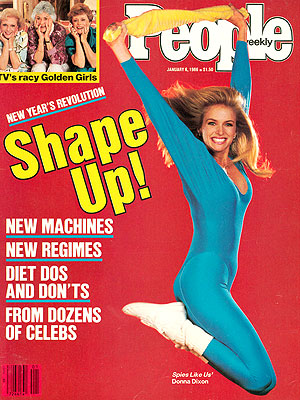 photo | Fitness & Health Fads, Donna Dixon Cover, Beatrice Arthur, Betty White, Donna Dixon, Rue McClanahan