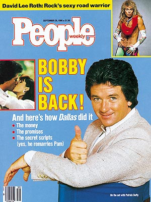  photo | Dallas, Patrick Duffy Cover, Soaps We Loved, David Lee Roth, Patrick Duffy