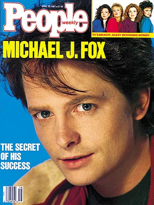 photo | 1980, Michael J. Fox Cover, When They Were Young, Annie Potts, Delta Burke, Dixie Carter, Jean Smart, Michael J. Fox
