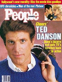 Ted Danson Leers Again on Cheers