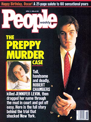 photo | Murder, Famous Trials, Robert Chambers Cover, True Crime, Jennifer Levin, Robert Chambers